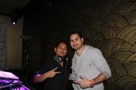 DJ Ryno and mentor DJ Tony Sinatra