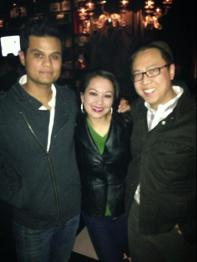 Thank You Sexy Vegas for your support! (Frank Acosta, Dr. Suzie Su and Dr. Sean Su)