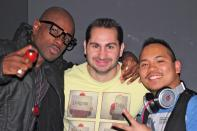 DJ ShadowRed, DJ Tony Sinatra, and DJ Ryno